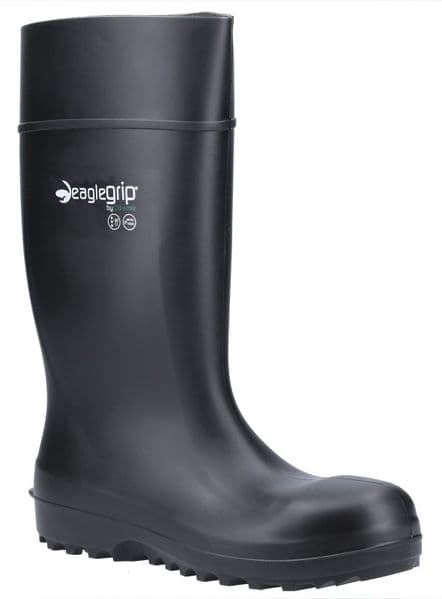 Amblers Safety AS1004 Safety Wellingtons Black
